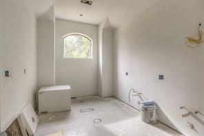 Master bath. Room for tub, dual sinks and shower.