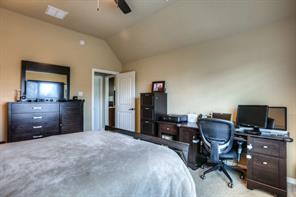 One more view of the master bedroom.