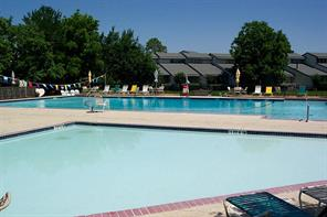 April Sound has three swimming pools; an adult only pool, kids pool, and full size pool that over-looks Lake Conroe that is open for all residents. Swimmers can also purchase food and drinks at the cabana (not pictured).