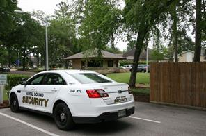 April Sound has private security with numerous patrol cars that monitor the neighborhood, and are available for residents needs.
