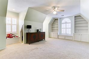 This bedroom also makes an awesome playroom with built in's, window seat, hidden play area and closet.