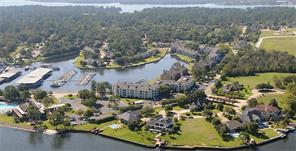 Aerial view shows Yacht club on the far left and condos on Melville.
