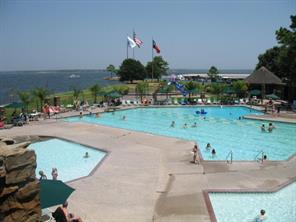 Yacht club pools, park and Grill for ordering burgers poolside!