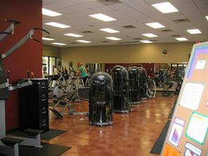 Cardio, machines, free weights and classes available.