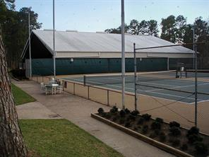 Covered and open courts available