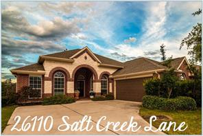 Houston Home at 26110 Salt Creek Lane Katy                           , TX                           , 77494-1263 For Sale