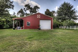 1600 sq foot barn/shop with a 16x10 enclosed room; great place for RV's, boats, cars, hobby's etc, or just extra storage room.