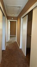 2 large closets upstairs between the bedrooms - tons of storage!