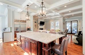 "KITCHEN - Amazing kitchen! Large island, 48"" Thermador range, apron sink, plenty of storage, warming drawer and butlers pantry!"