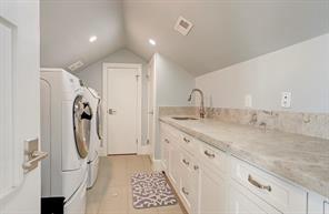 UTILITY ROOM - Spacious area to make laundry a little less stressful!