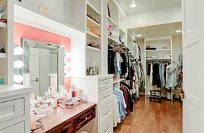MASTER CLOSET - Huge master closet! Much larger than photos show.