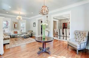 FOYER/FORMAL SITTING - Original 1920 s built-ins. 6 Inch White oak flooring.