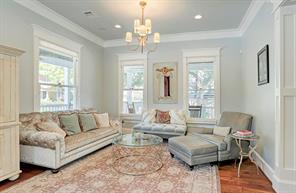 FORMAL SITTING- Great area for your own front living space or reading room.