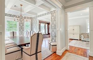 FORMAL DINING - Original 1920 s dining room built-in was saved and refurbished.Stunning finishes throughout!