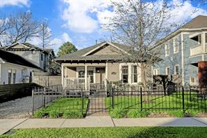Houston Home at 1537 Ashland Street Houston , TX , 77008-4131 For Sale