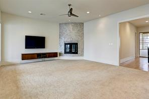 Alternate view of the large upstairs family room.