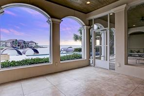 Breathtaking view of Lake Conroe from your outdoor screened patio.