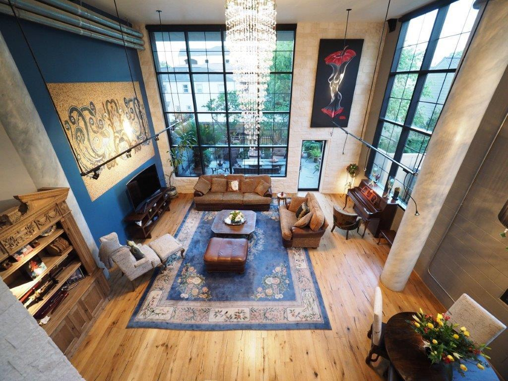 Bright spacious corner unit in posh area. Ceiling-high windows facing south and east with electric shades. Loft area can be bedroom, study, game room, etc. Recently renovated, brand new AC, high-end appliances, hardwood floors, Calacatta marble countertops. All appliances, stone wall mosaic, crystal chandelier are included. Patio-size landscaped balcony with LED lighting and pot plant drip system. Double parking with electric car outlet. Resort style pool for residents and guests.