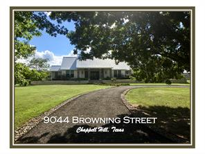 Houston Home at 9044 Browning Street Chappell Hill , TX , 77426-5004 For Sale