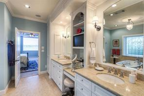 Another view of this spacious master bath.