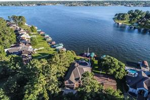 Awesome location on Lake Conroe with endless open waterfront views!
