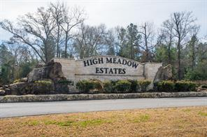 Houston Home at 23506 High Meadow Estates Drive Montgomery , TX , 77316-2092 For Sale
