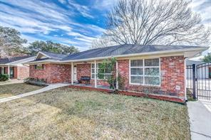 Houston Home at 4019 Martinshire Drive Houston , TX , 77025-3916 For Sale
