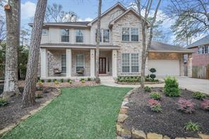 Houston Home at 54 Green Gables Circle The Woodlands                           , TX                           , 77382-1143 For Sale
