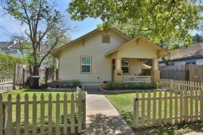 Houston Home at 1910 Oxford Street Houston , TX , 77008-4352 For Sale