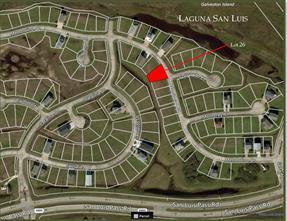 Houston Home at Lot 26 Mendocino Galveston , TX , 77554 For Sale