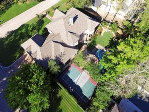 Aerial view of this exceptional property.  Truly a Memorial must see!