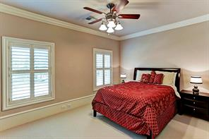 One of the 4 bedrooms on second floor