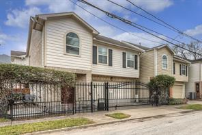 Houston Home at 1101 Gillette Street Houston , TX , 77019-4522 For Sale