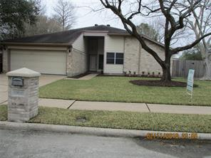 Houston Home at 15010 Swanley Court Houston , TX , 77062-2535 For Sale