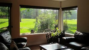 Magnificent view  of Walden golf course from living area