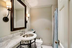 Note this charming second floor bath.