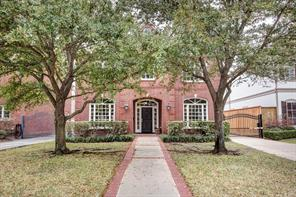 Houston Home at 3744 Jardin Southside Place , TX , 77005-3649 For Sale