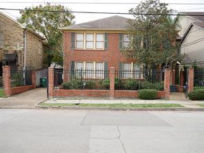 Houston Home at 2306 Hazard Street Houston , TX , 77019-6516 For Sale