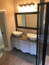 Pictures are only attached to show finish work. They are actually of another home built by Bordeaux Homes in the same neighborhood... They are not cookie cutter homes.