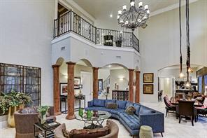 Alternate view of the enormous formal living area with plenty of extra space to utilize for dining.