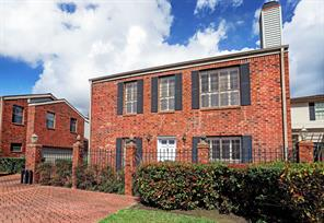 Houston Home at 1744 Alabama Street F Houston , TX , 77098-2824 For Sale