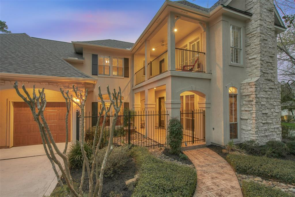 If you are looking for a home in The Woodlands that is like no other, this is it! Why settle for commonplace and cookie cutter when you can have extraordinary and original. This true one-of-a-kind Meyer-Leigh custom home with immense curb appeal is on a huge corner lot, in a highly coveted neighborhood within walking distance of exemplary Buckalew. The home features large windows, custom millwork, granite, designer paint & finishes. A fully remodeled spa-like master bathroom, huge frameless shower and custom closet are not to be missed. Includes a study with built-ins, spectacular dining room overlooking courtyard & formal living that can have many uses. Incredible storage throughout & full cedar closet and two Texas basements. The backyard is an oasis with a screened in porch – goodbye bugs! New kitchen appliances including microwave, double oven & gas cook-top. New mechanicals! Roof (12/17), all new HVAC ('16 & '18) & hot water heaters (16) - this home is move-in ready!