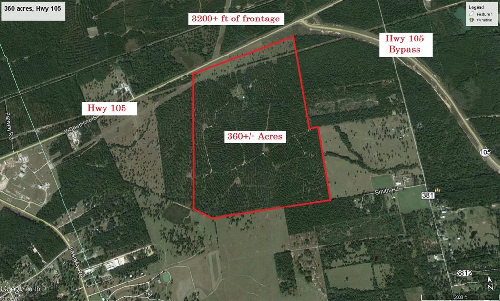 360 Acres HWY 105, Cleveland, TX 77328