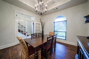 Formal dining room off the entry, great spot for a home office, as well.
