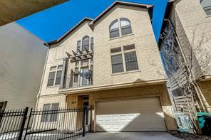 Houston Home at 625 Birdsall Street Houston , TX , 77007-5101 For Sale