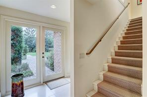 BACK STAIRCASE leading to FIFTH BEDROOM (16'x11') plus GYM ROOM (21'x10')