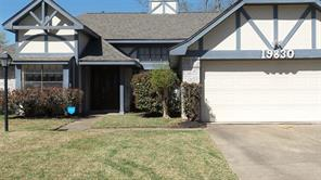 Houston Home at 19830 Hoppers Creek Drive Katy , TX , 77449-6627 For Sale