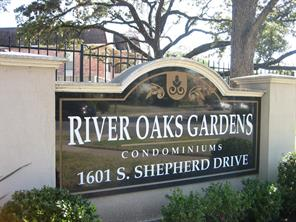 Houston Home at 1601 Shepherd Drive 213 Houston , TX , 77019-3542 For Sale