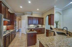 Enjoy entertaining and meal preparation in your well appointed kitchen.