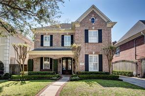 Houston Home at 3813 Villanova West University Place , TX , 77005-3639 For Sale